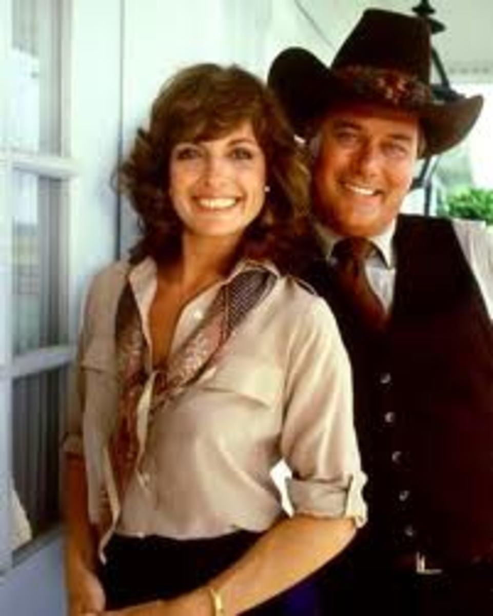 Sue Ellen and JR