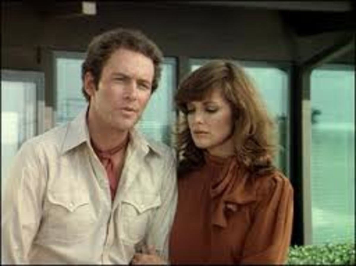 Dusty Farlow and Sue Ellen