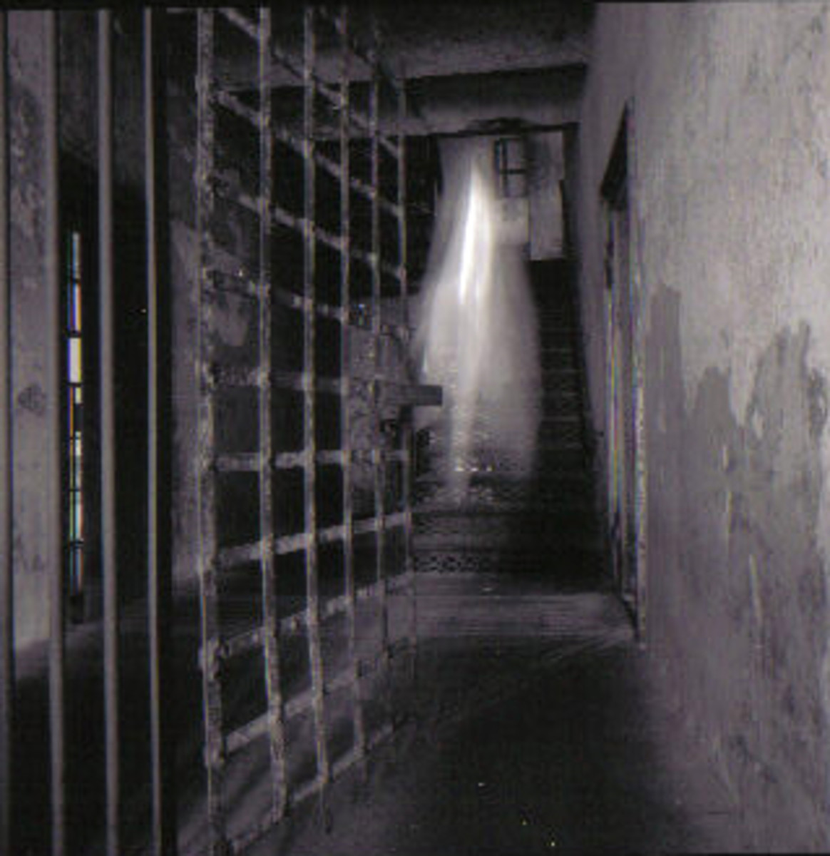 Ghostly Image Caught In The Old Charleston City Jail