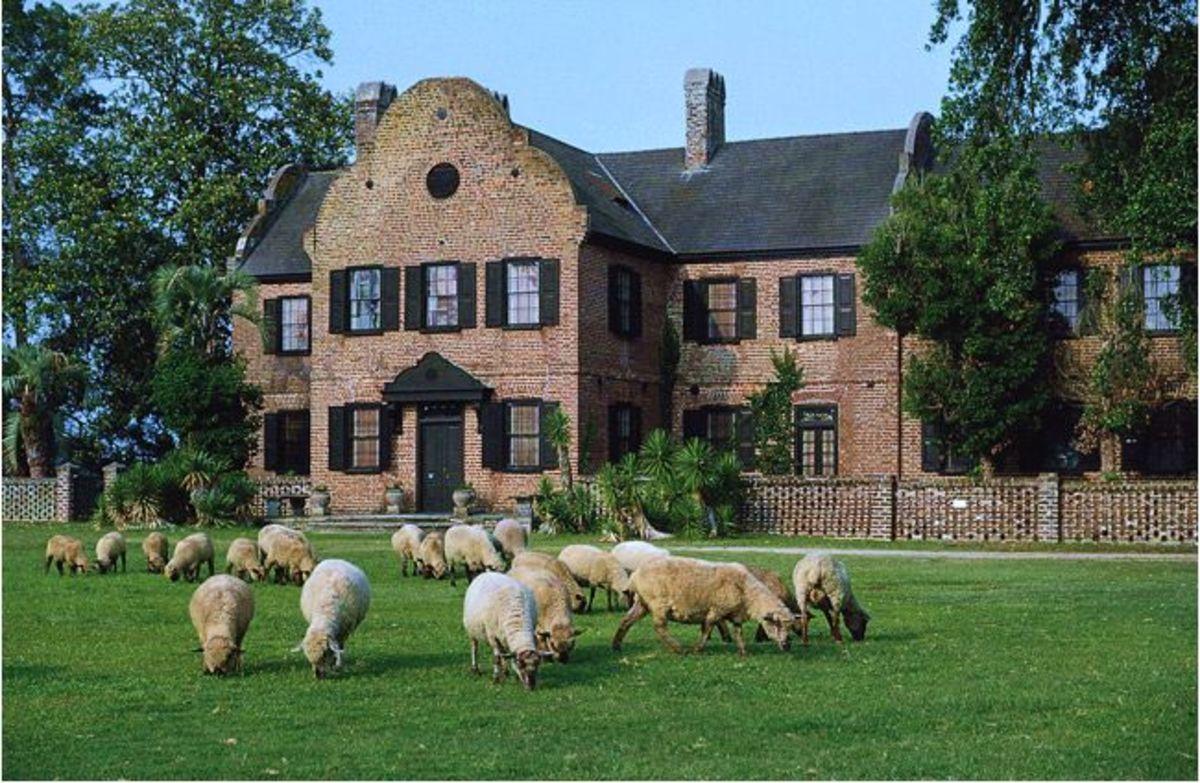 Middleton Place Plantation House Today