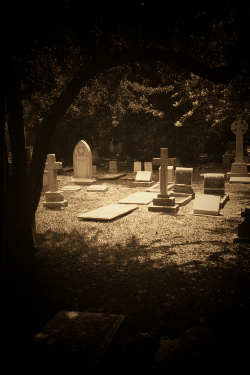 Haunted Charleston South Carolina