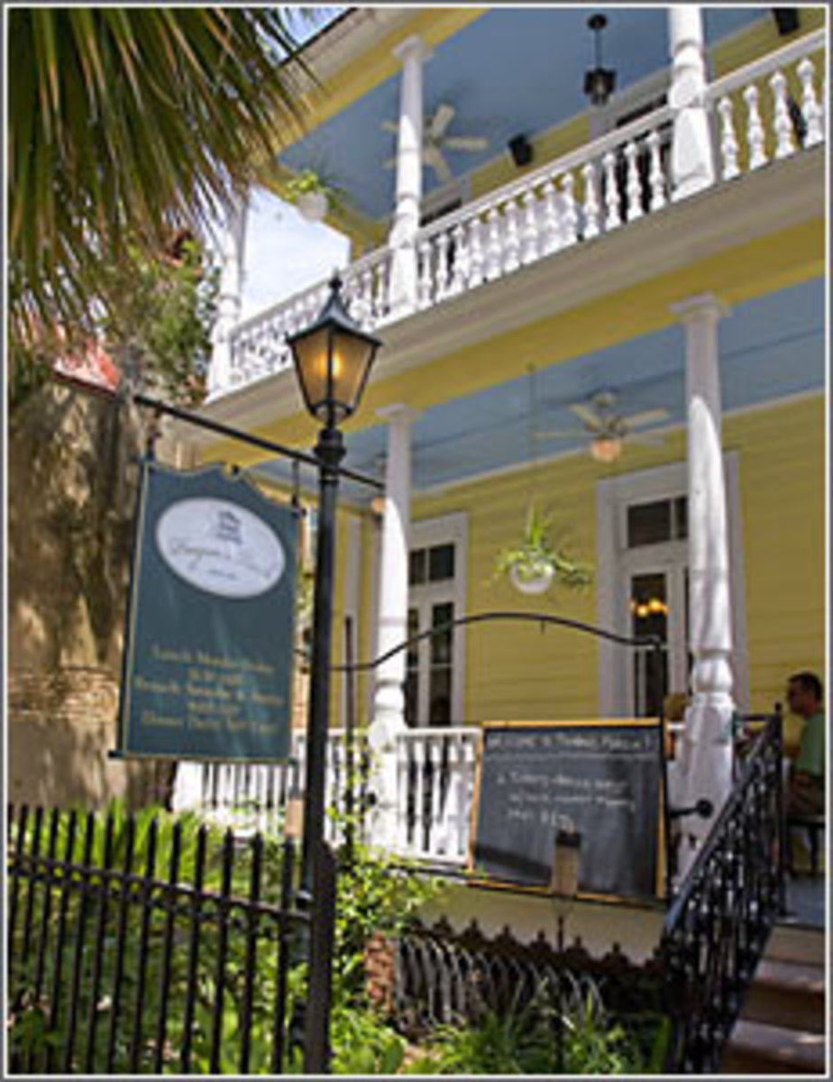 Haunted Poogan's Porch Restaurant Charleston South Carolina. The Restaurant is located at 72 Queen Street and you really should check it out.