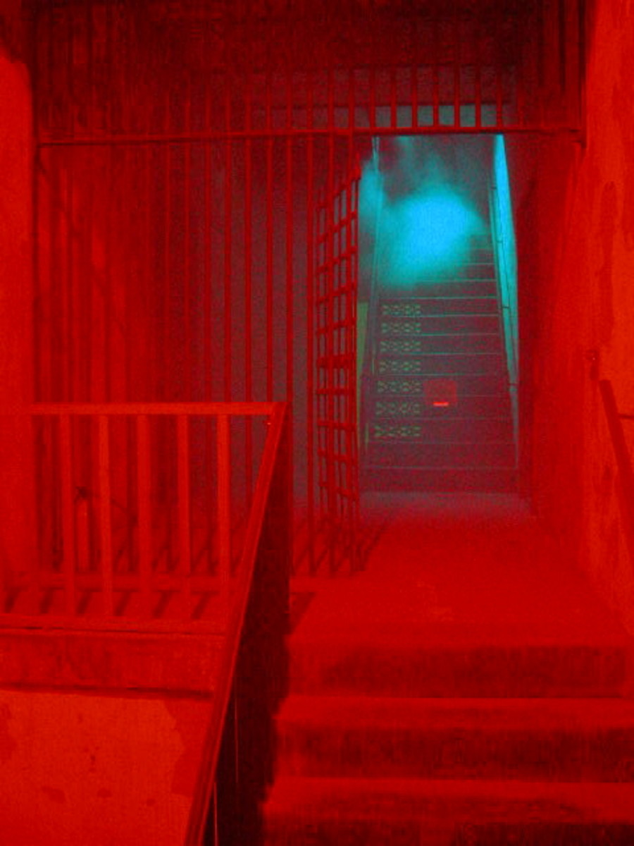 Another Ghostly Image In The Old City Jail
