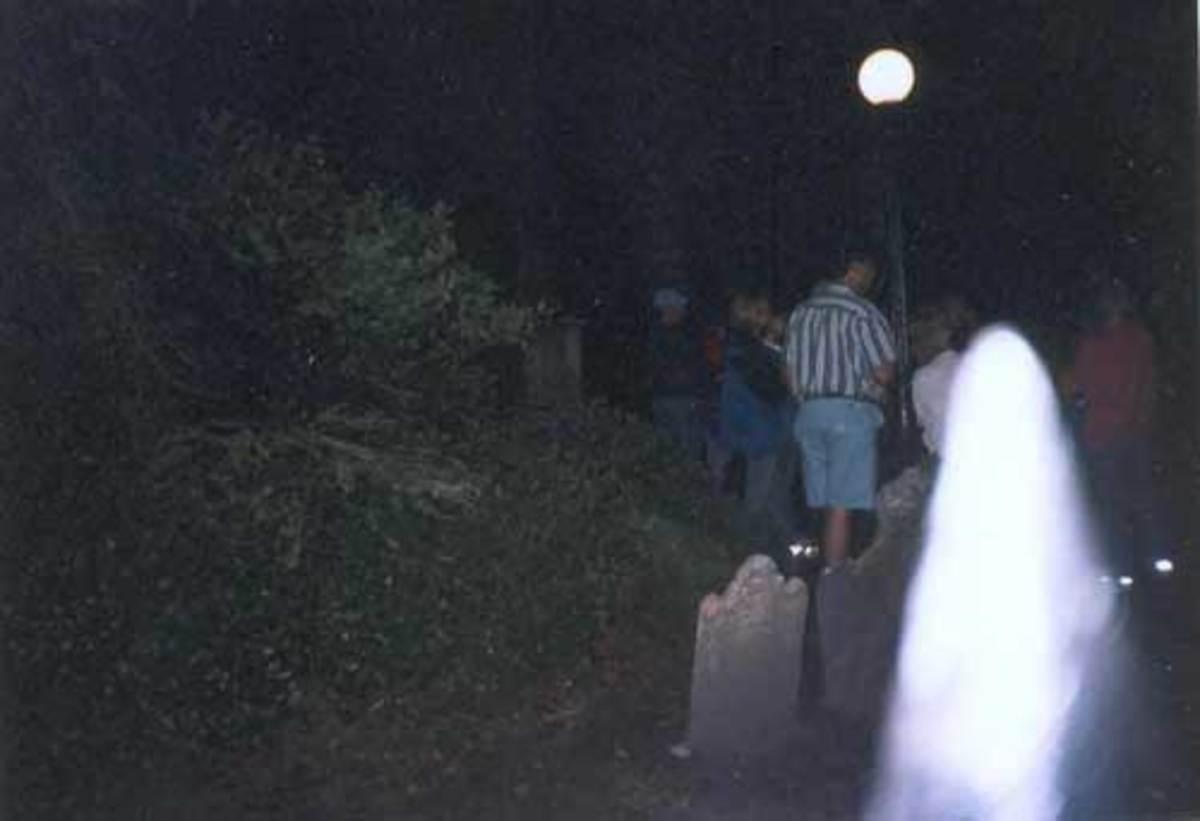 Charleston Graveyard Ghost Image