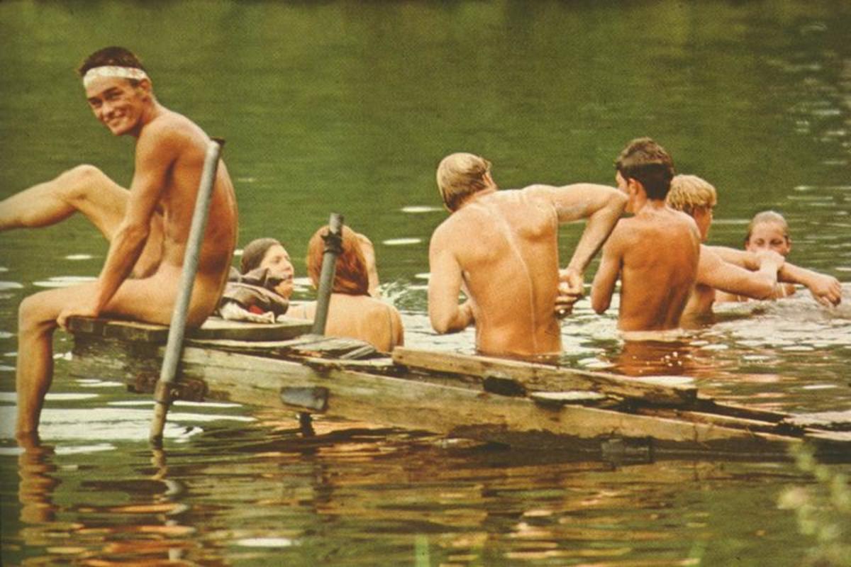 BATHTIME at Woodstock 1969!