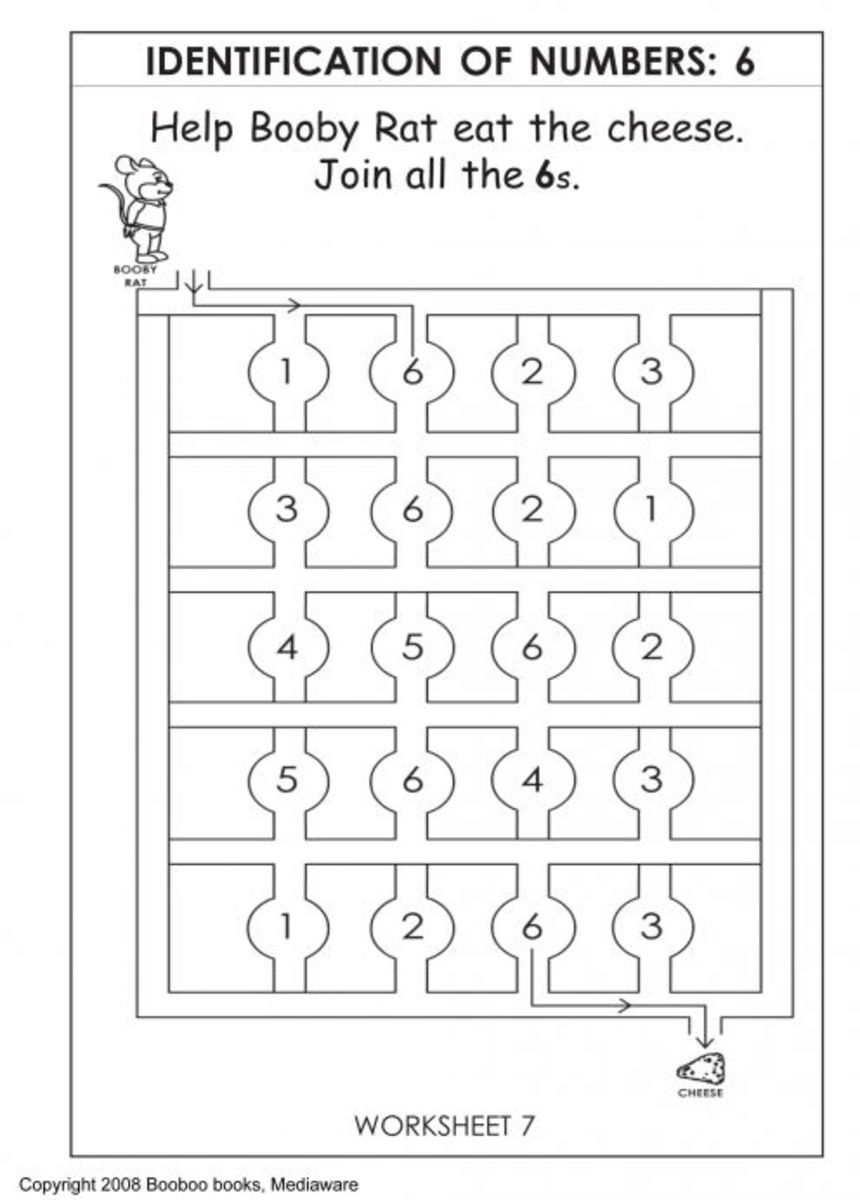 Kindergarten Worksheets |Activity Worksheets for children ...
