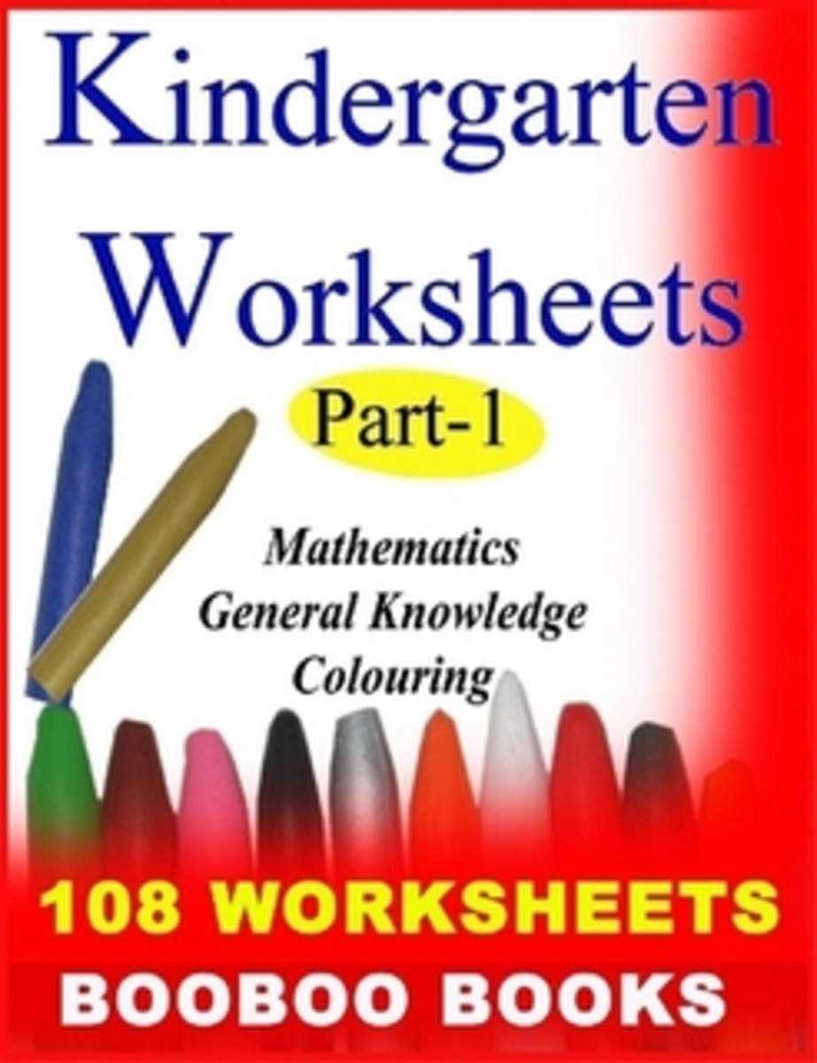 Kindergarten Worksheets |Activity  Worksheets for children | Printable workbooks