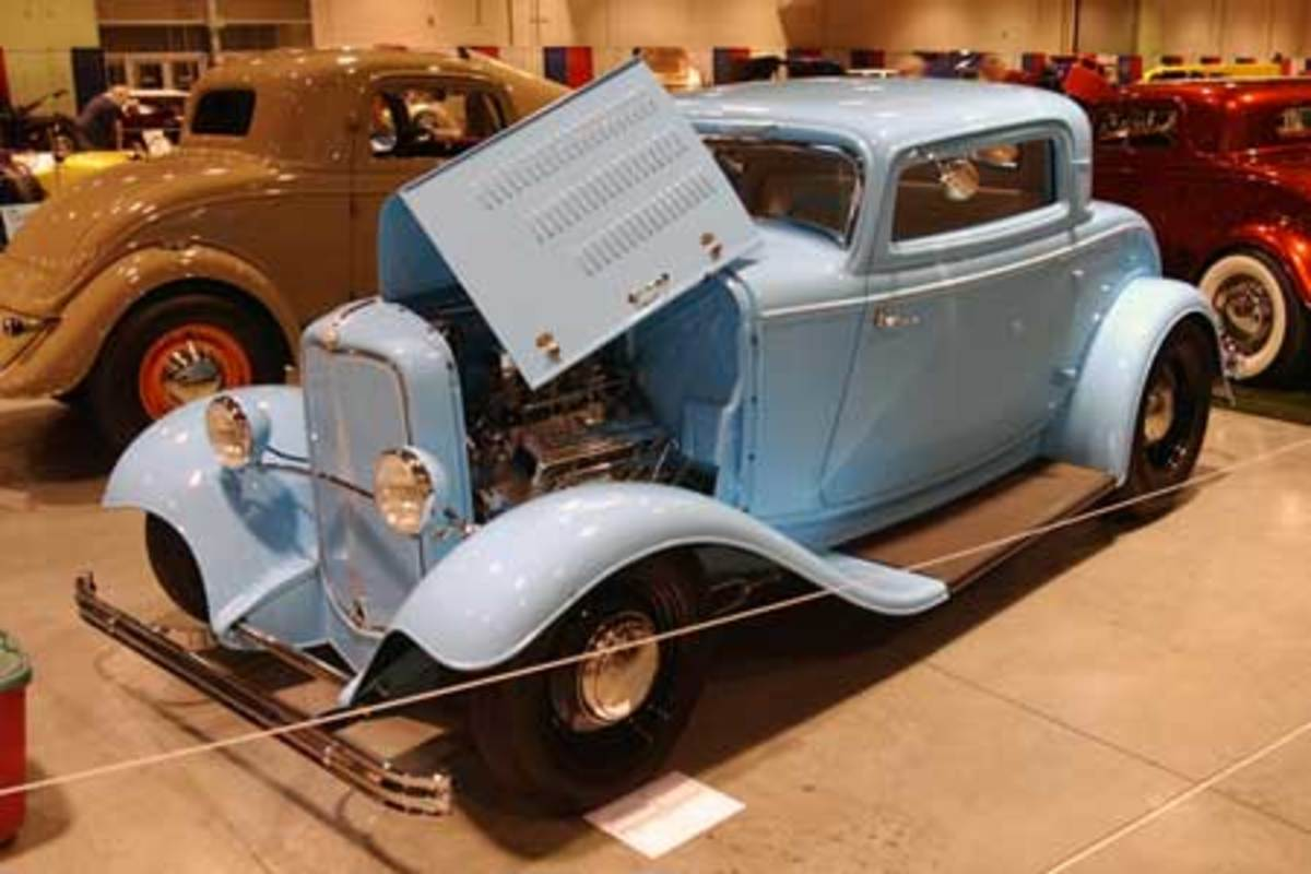 4. 1932 Ford 3-Window Coupe