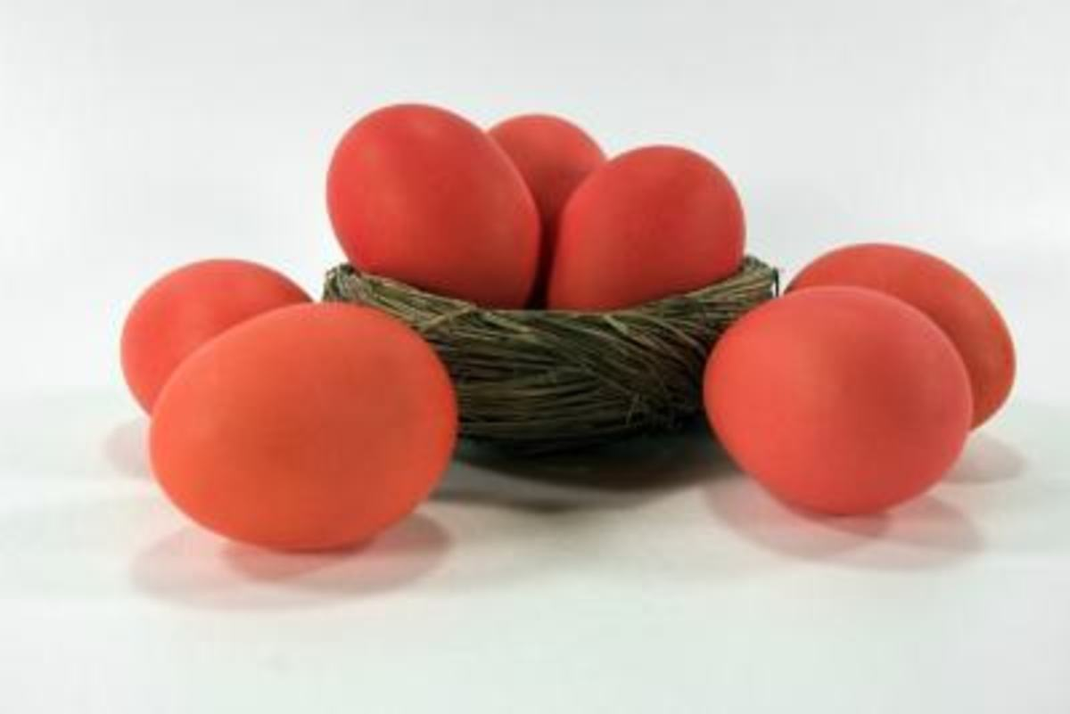 Cracking Your Red Easter Eggs and other Greek Orthodox Easter Traditions and Facts