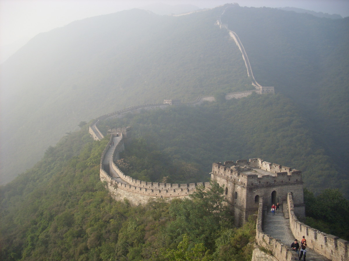 The spectacular and unbelievable great wall