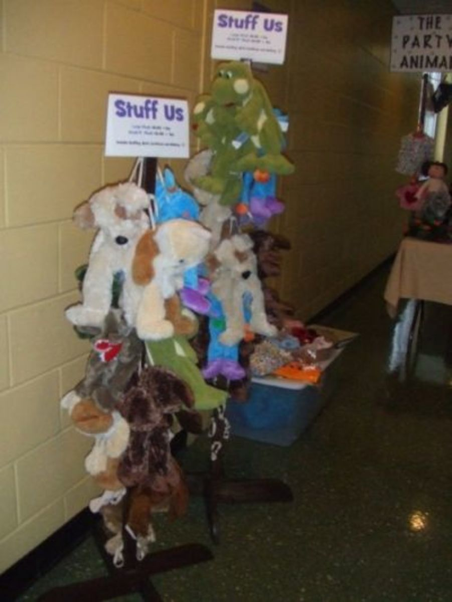 This is My Animal Tree at one of my shows