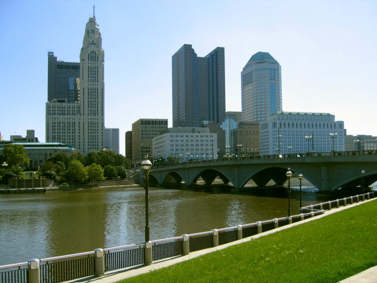 ohio places visit cities place towns oh things town travel most