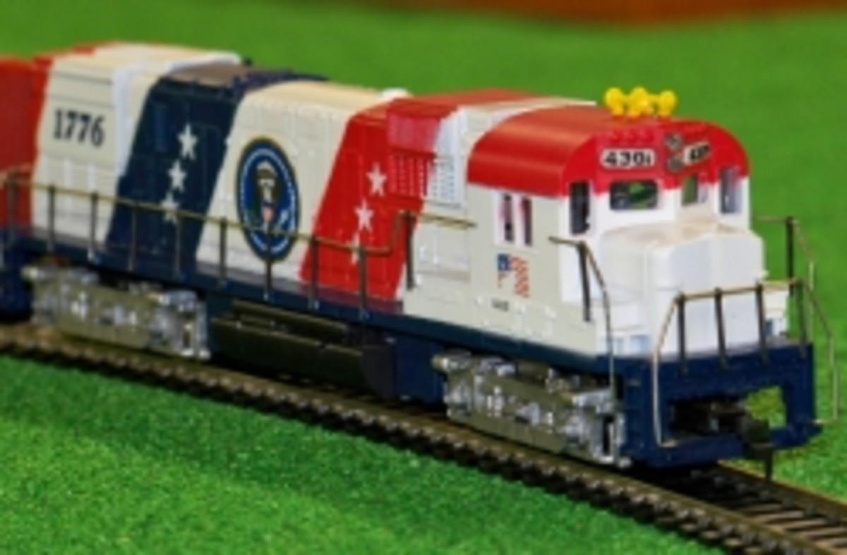 How to Restore a Tyco Super Spirit of 76 Train  Locomotive