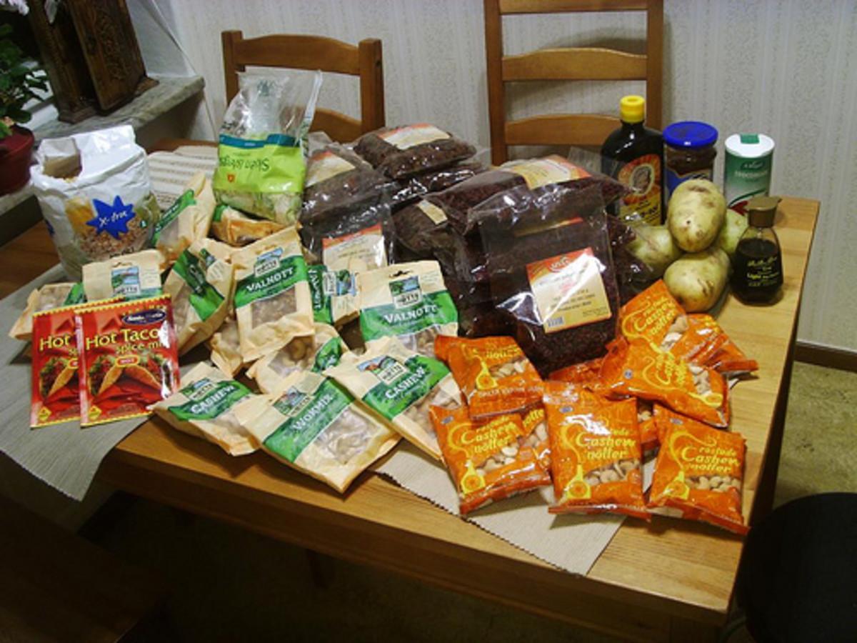 Freegan food - sigurdas/flickr - Rescued from trash bin.