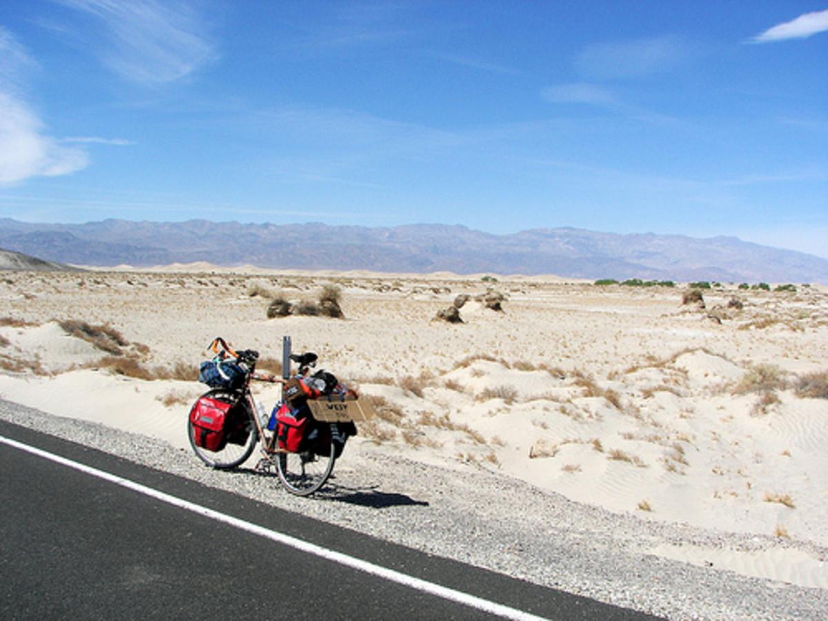 Freegan bicycle on a tour - goddammaddog/flickr