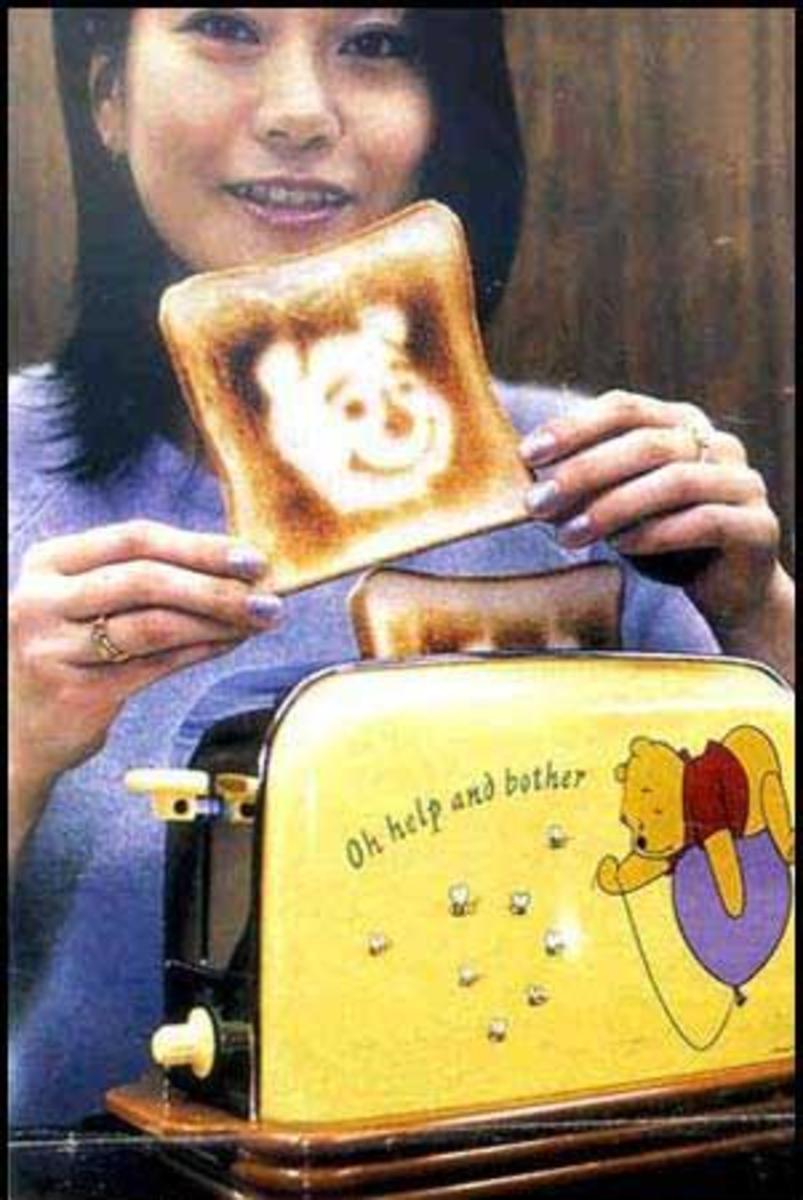 It's winnie the Pooh! Oh my!?