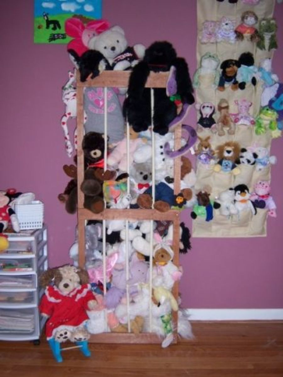 My Daughter's Stuffed Animals AFTER