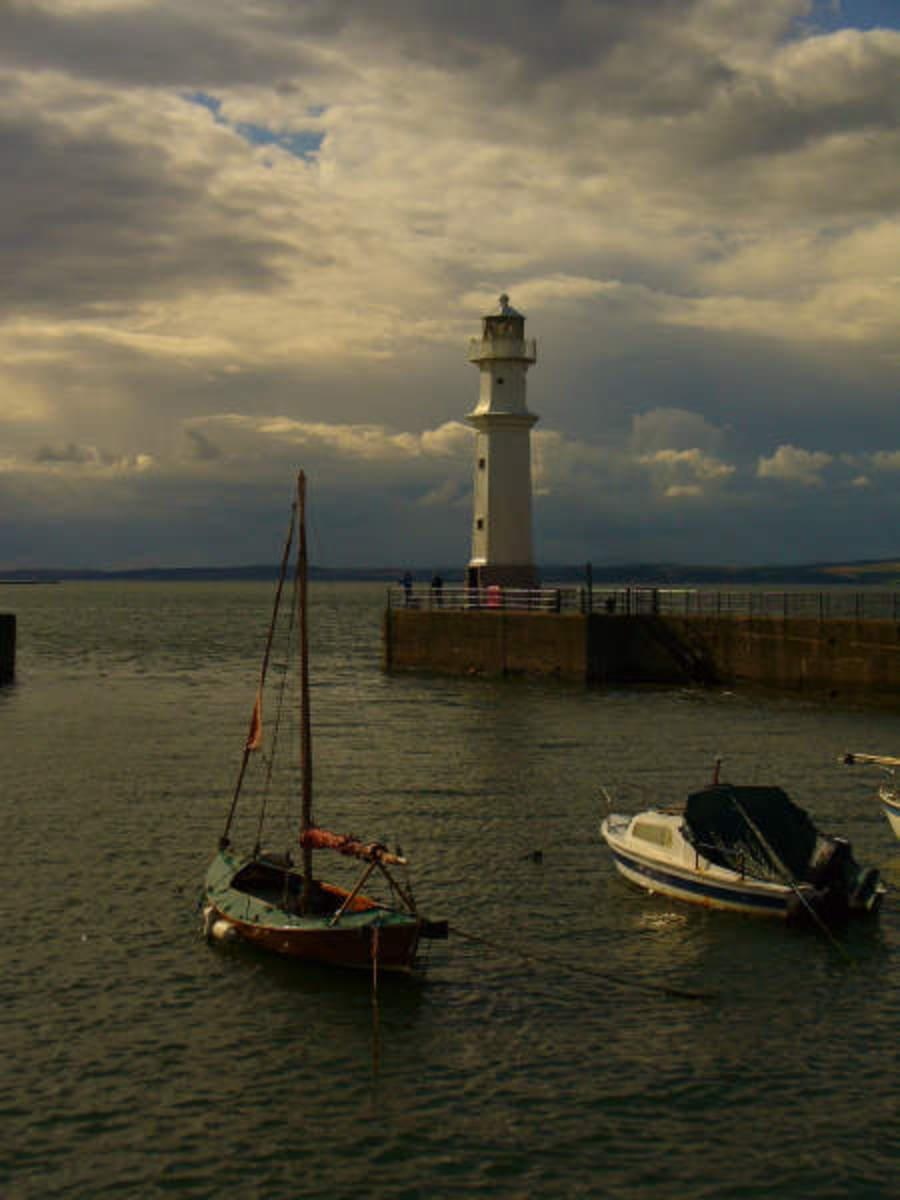 Original Image: Newhaven Quay Edinburgh 2007