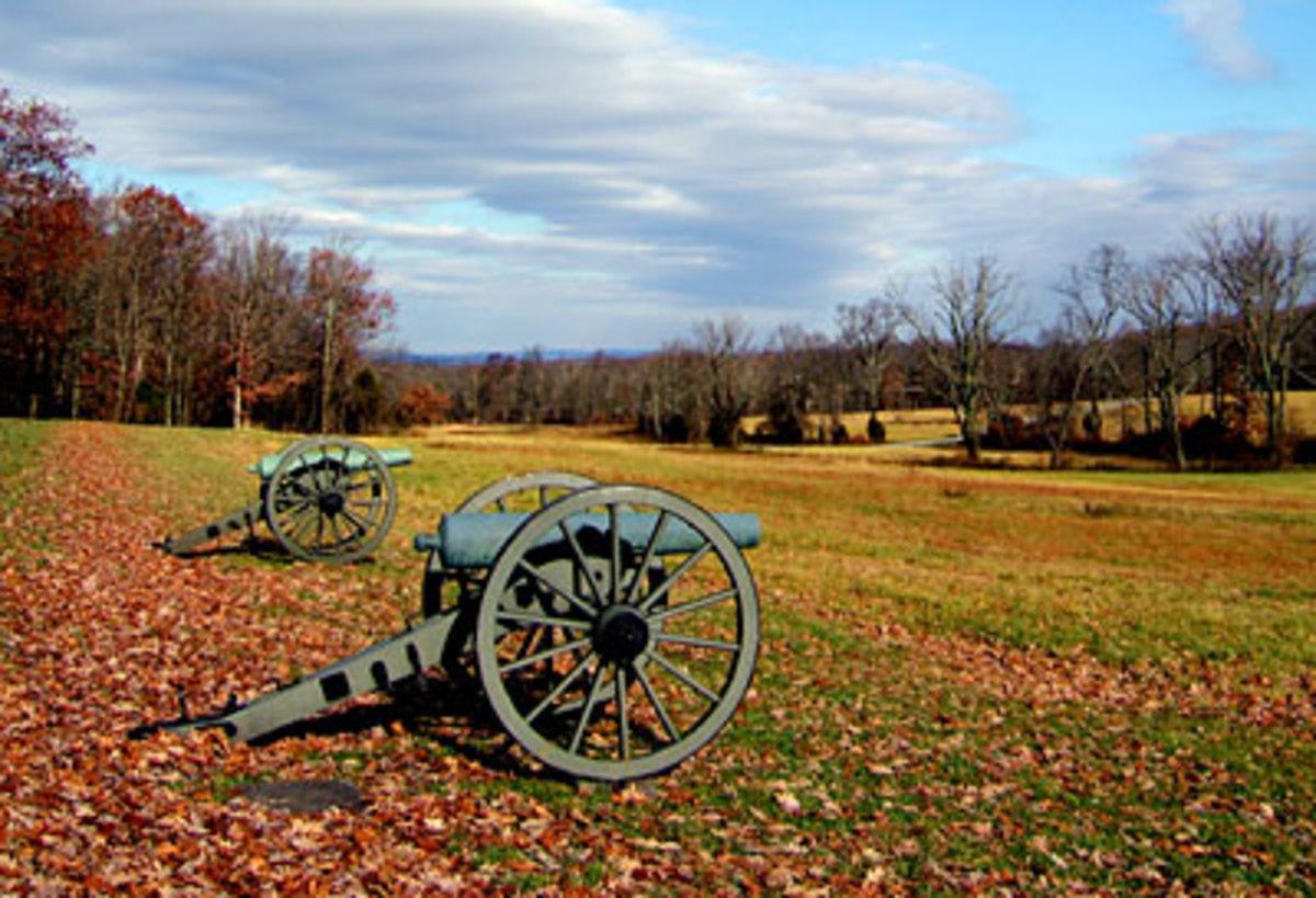 Battlefield in Gettysburg PA