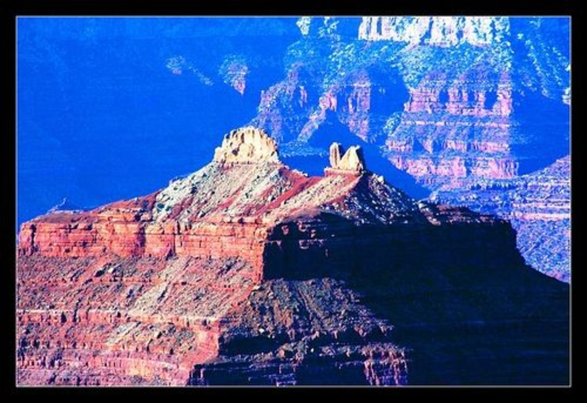 Malagosa Crest at the Grand Canyon