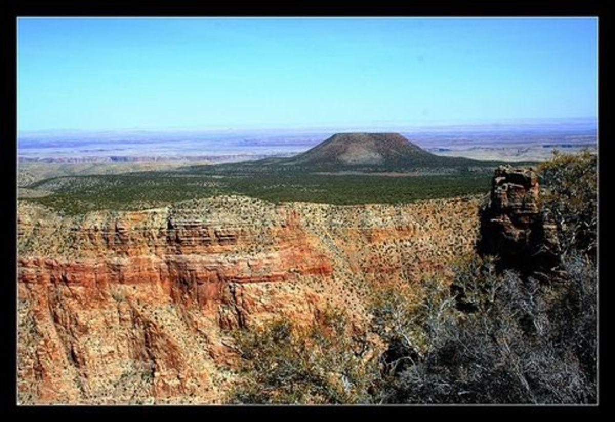 Cedar Mountain at the Grand Canyon