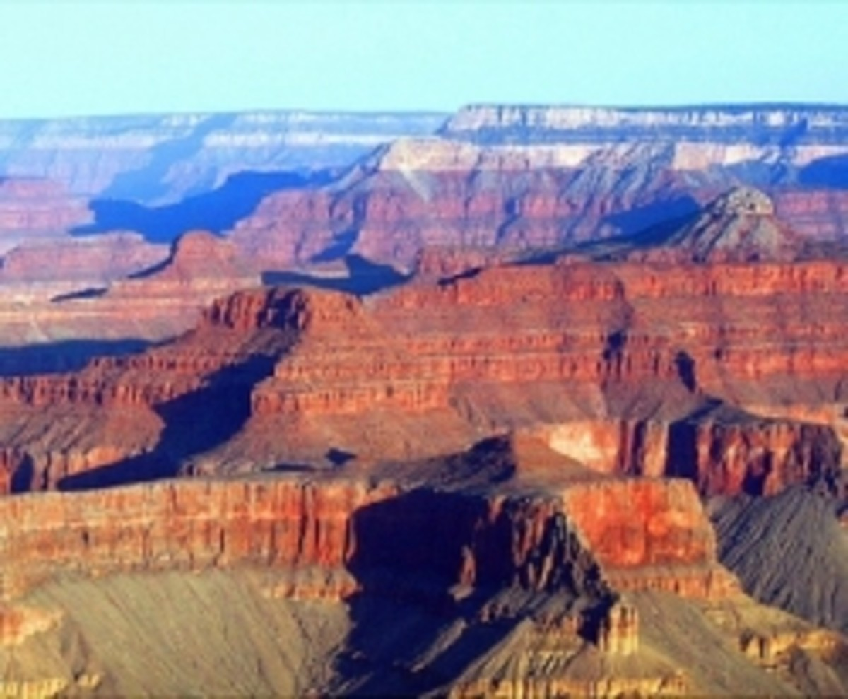 The Peaks of the Grand Canyon
