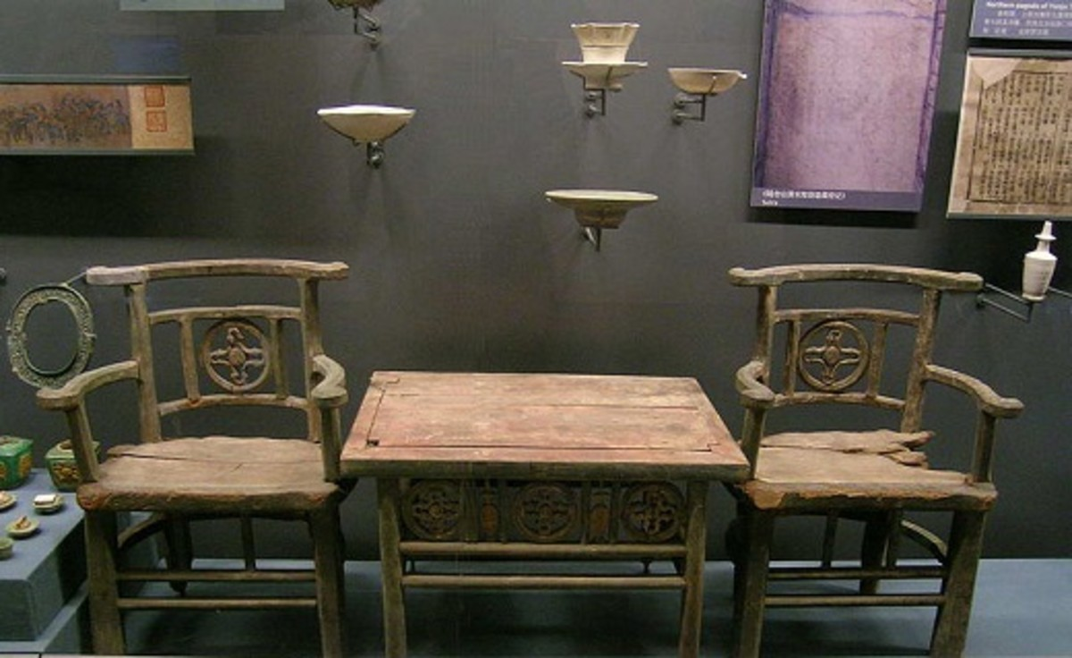 Chinese Furniture from the Liao Dynasty (907–1125) with some damage. Would you have this restored?