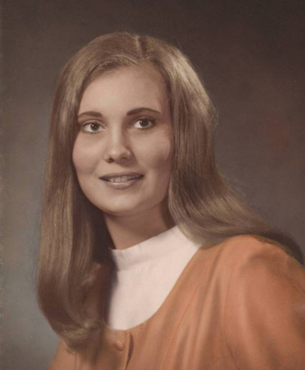 .Photo: Jeanie Sims age 20 graduate of Forrest Business College