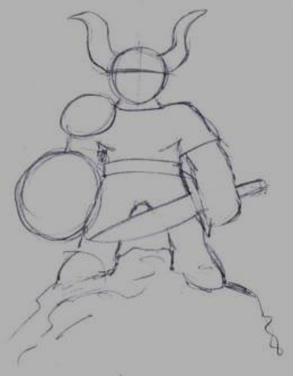 Draw a goblin.