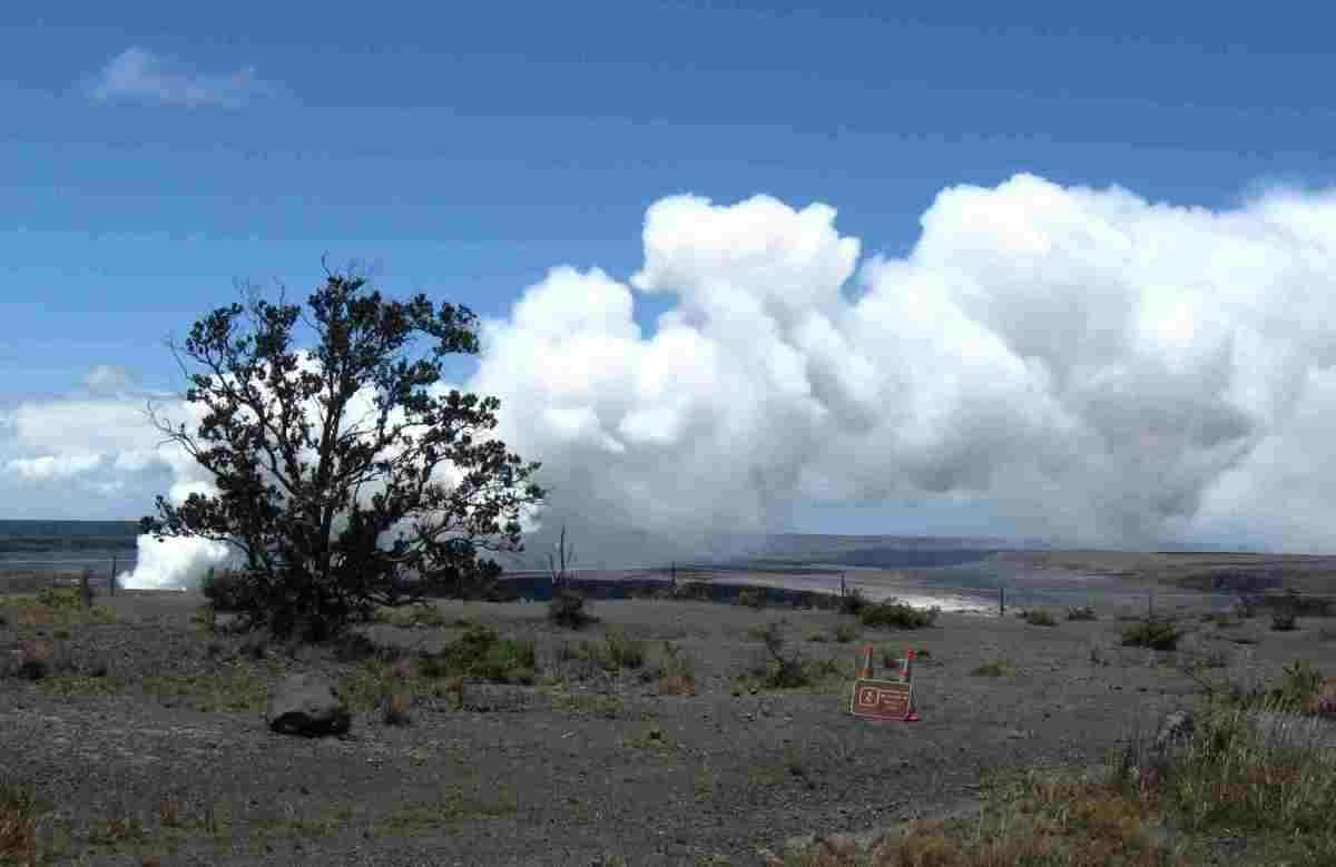 The Island of Hawaii and Its Six Volcanoes