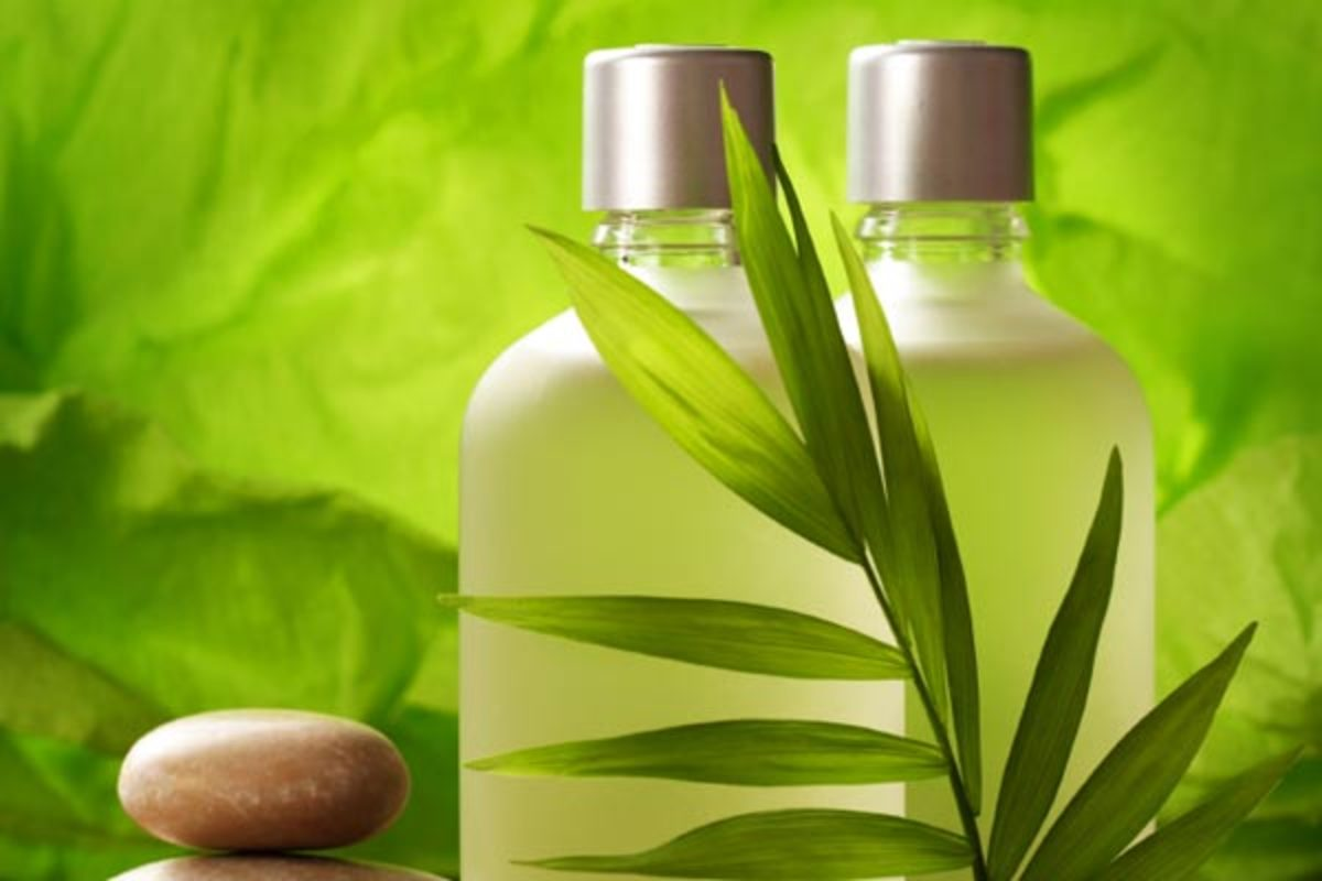 Homemade Natural Shampoo  - DIY