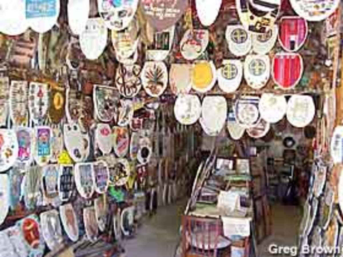 Toilet Seat Museum in Alamo Heights, Tx