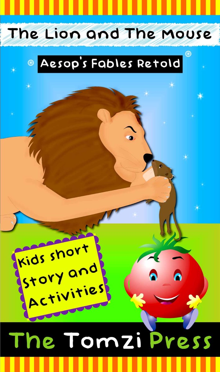 The lion and the mouse | The hare & the tortoise - short moral stories for kids with pictures