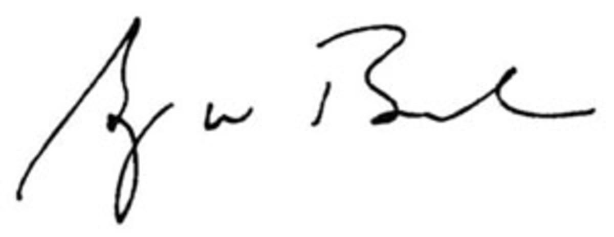 George W. Bush's Signature