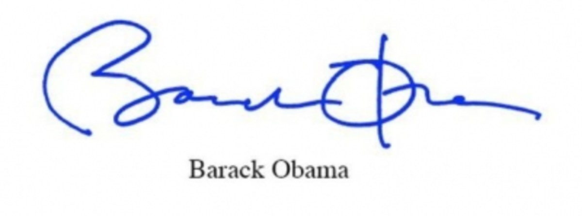 Barack Obama's Signature