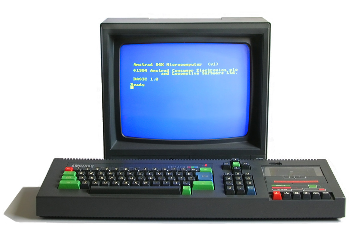 The Colour Personal Computer from Amstrad used AY technology