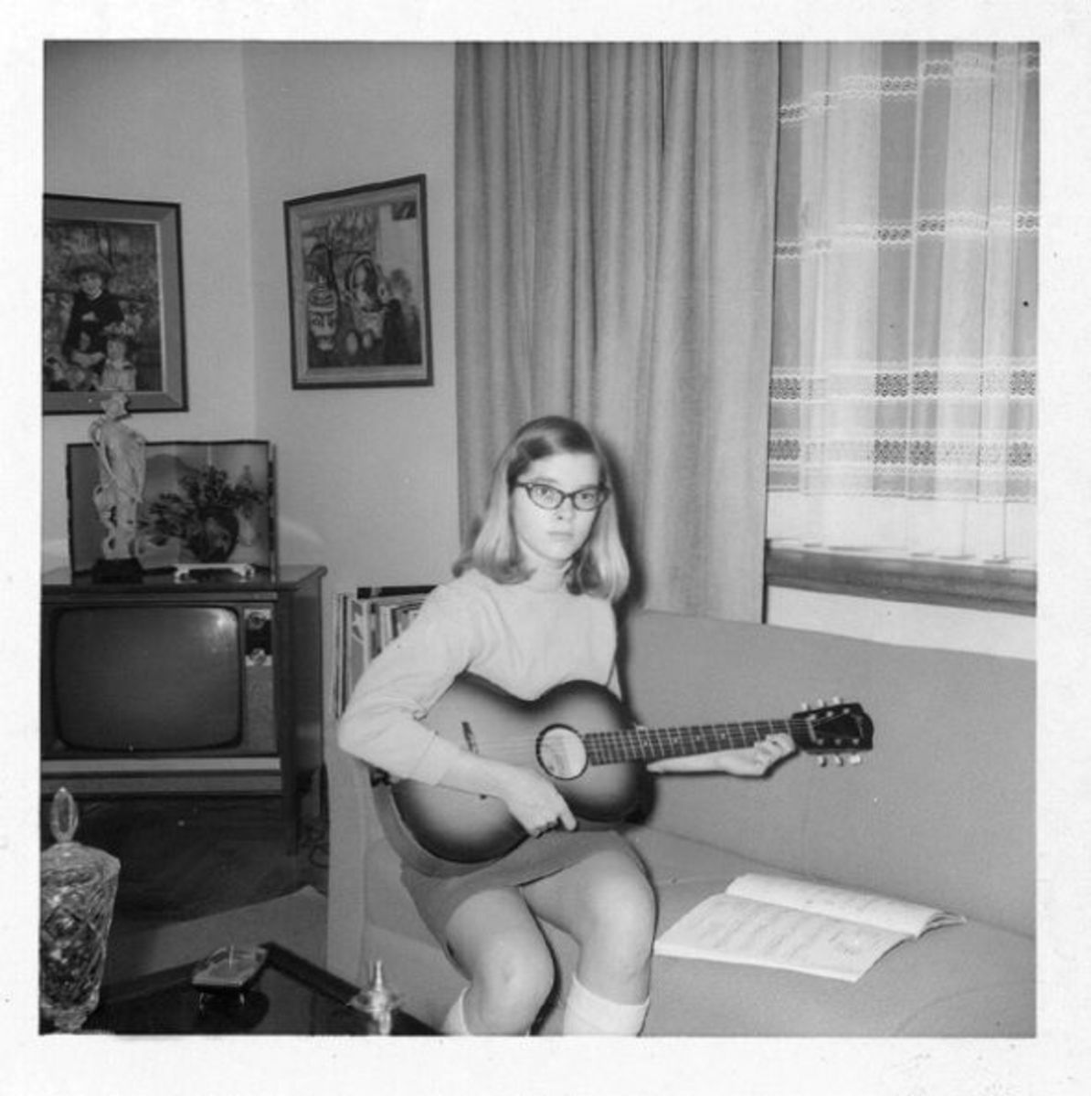 Sister Mel around the age of fourteen.