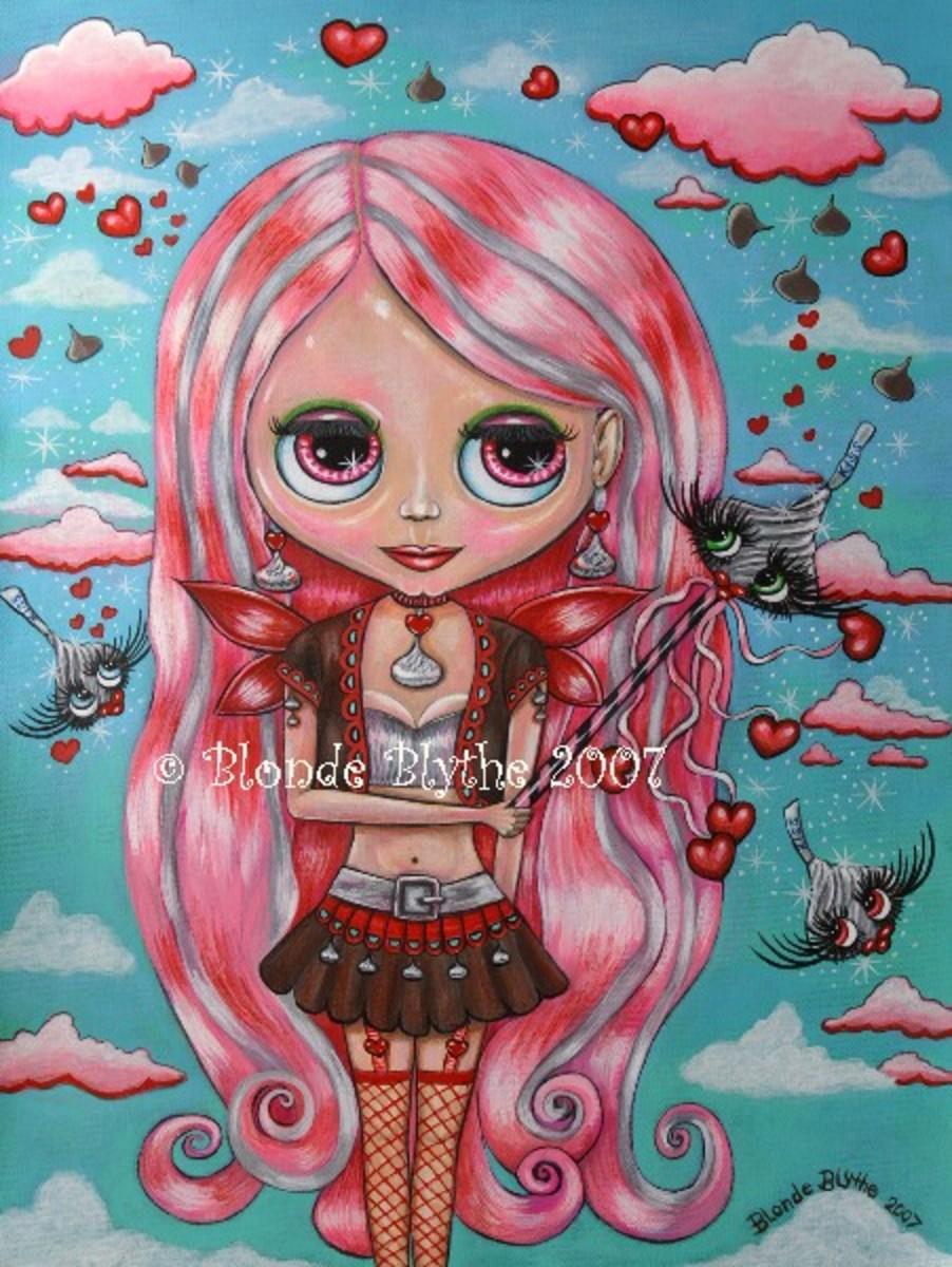 """""""Blythe Kiss Fairy"""" by Blonde Blythe"""