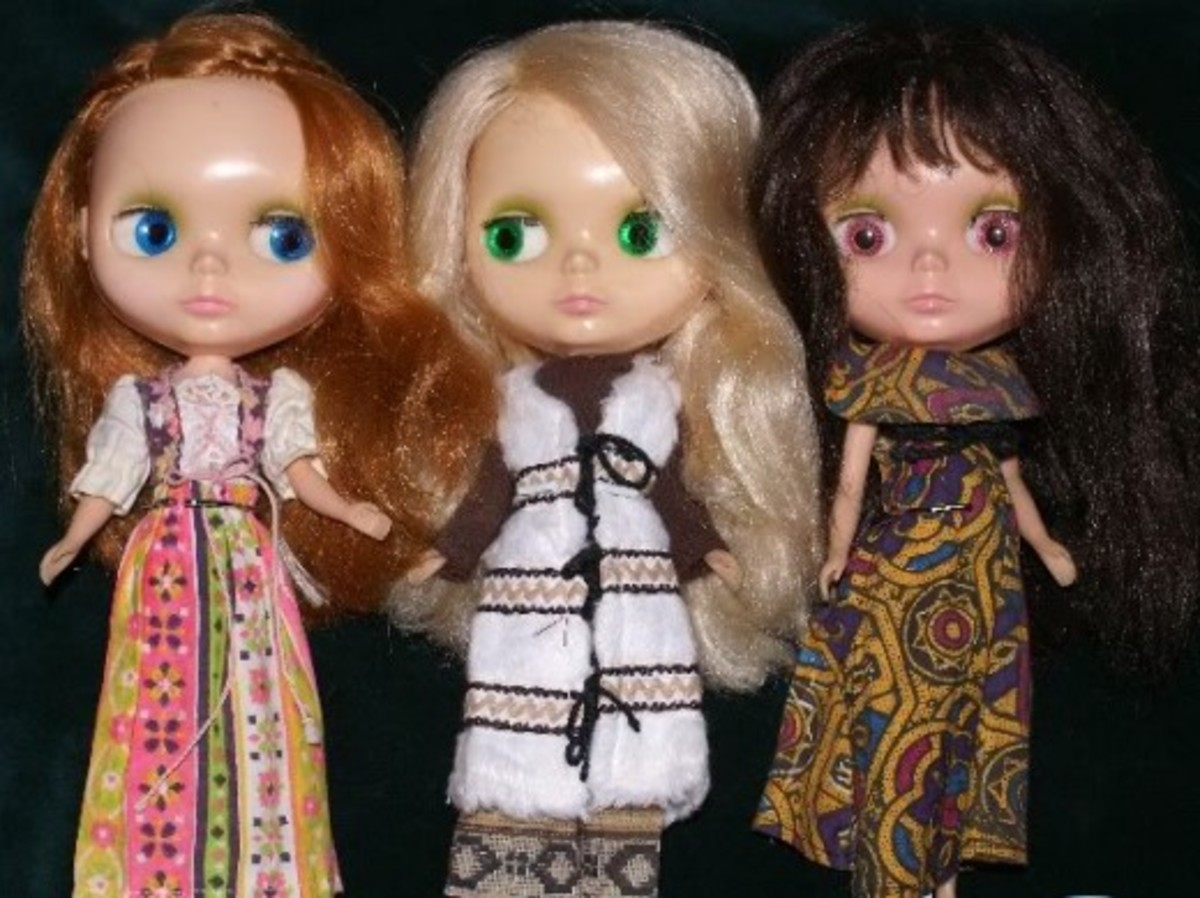 Kenner Blythe dolls. Photo credit: Blonde Blythe