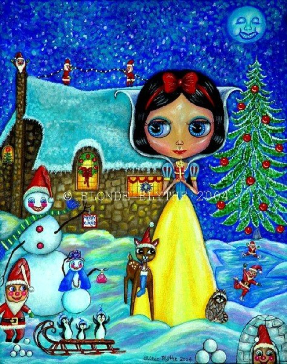 """Snow White Christmas"" by Blonde Blythe"