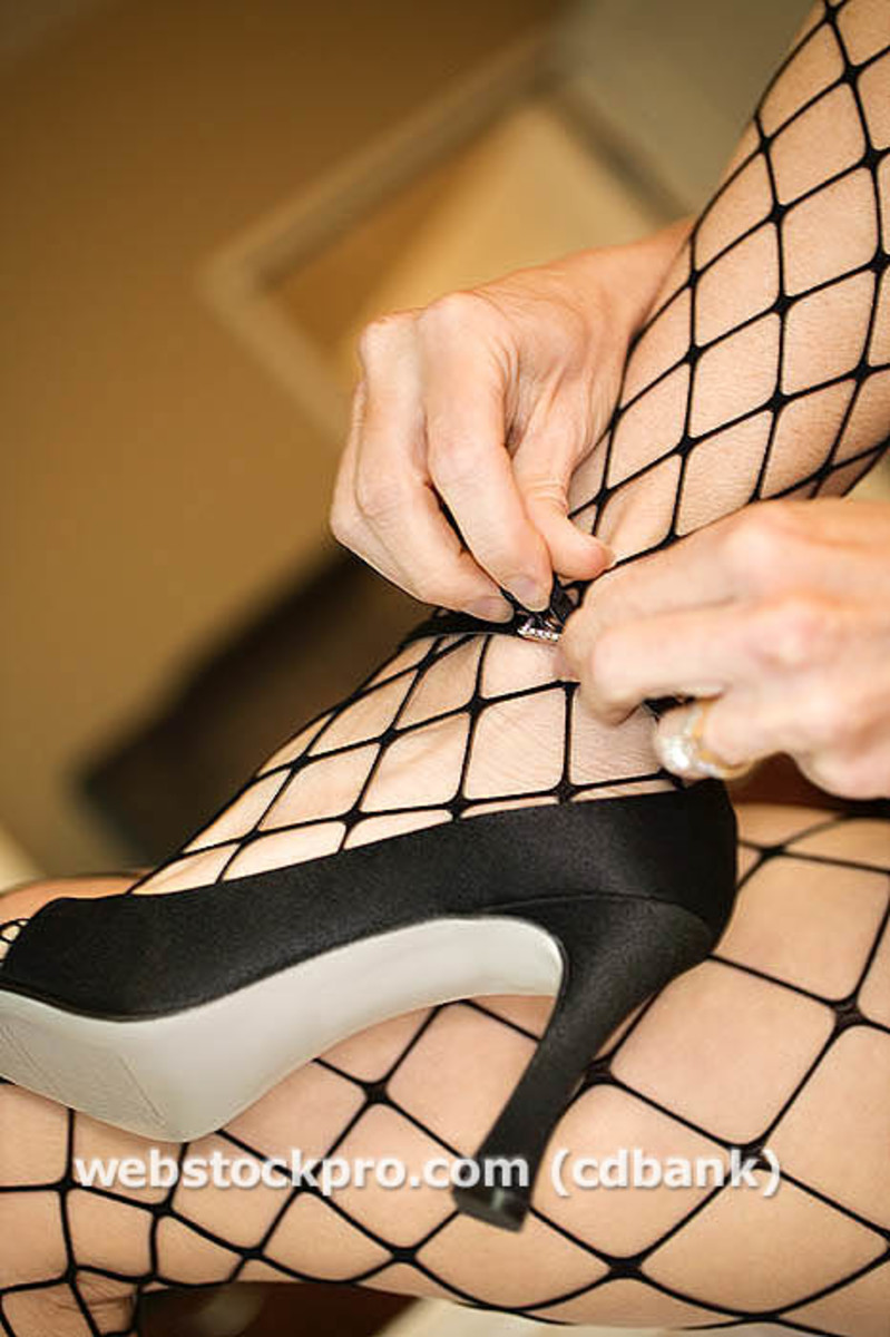 The Seductive Sixties: Black Fishnet Stockings