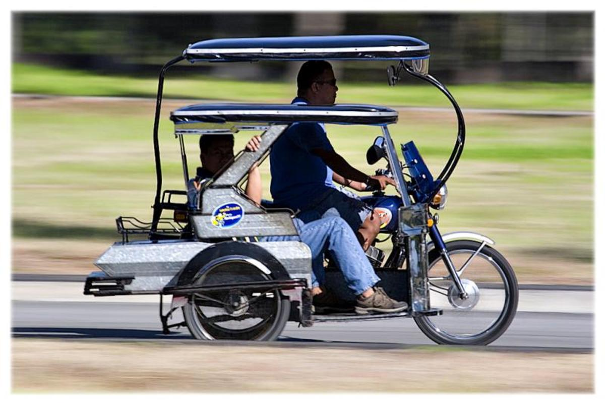 Tricycle is a motorcycle with a sidecar.