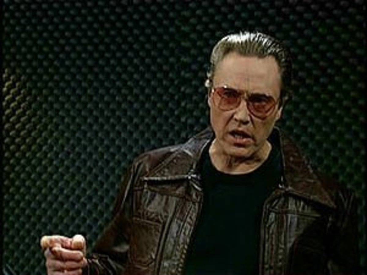 Christopher Walken Just Needed More Cowbell