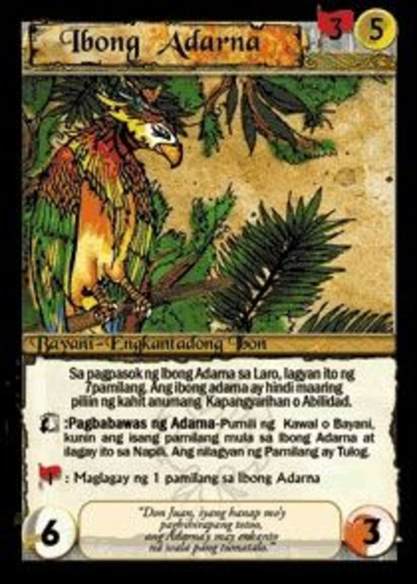 Adarna Bird Card