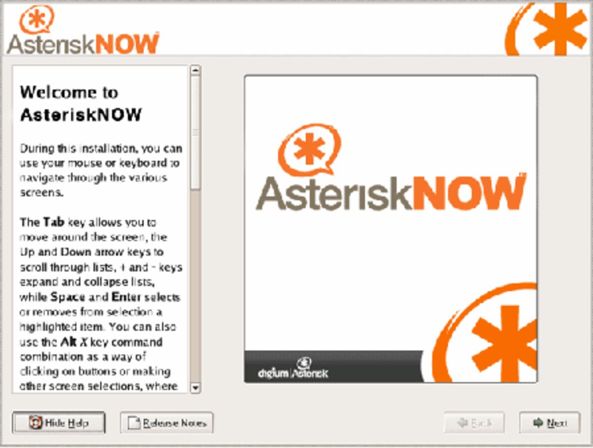 Cài đặt và cấu hình Asterisk Now, VoIP system at home or office