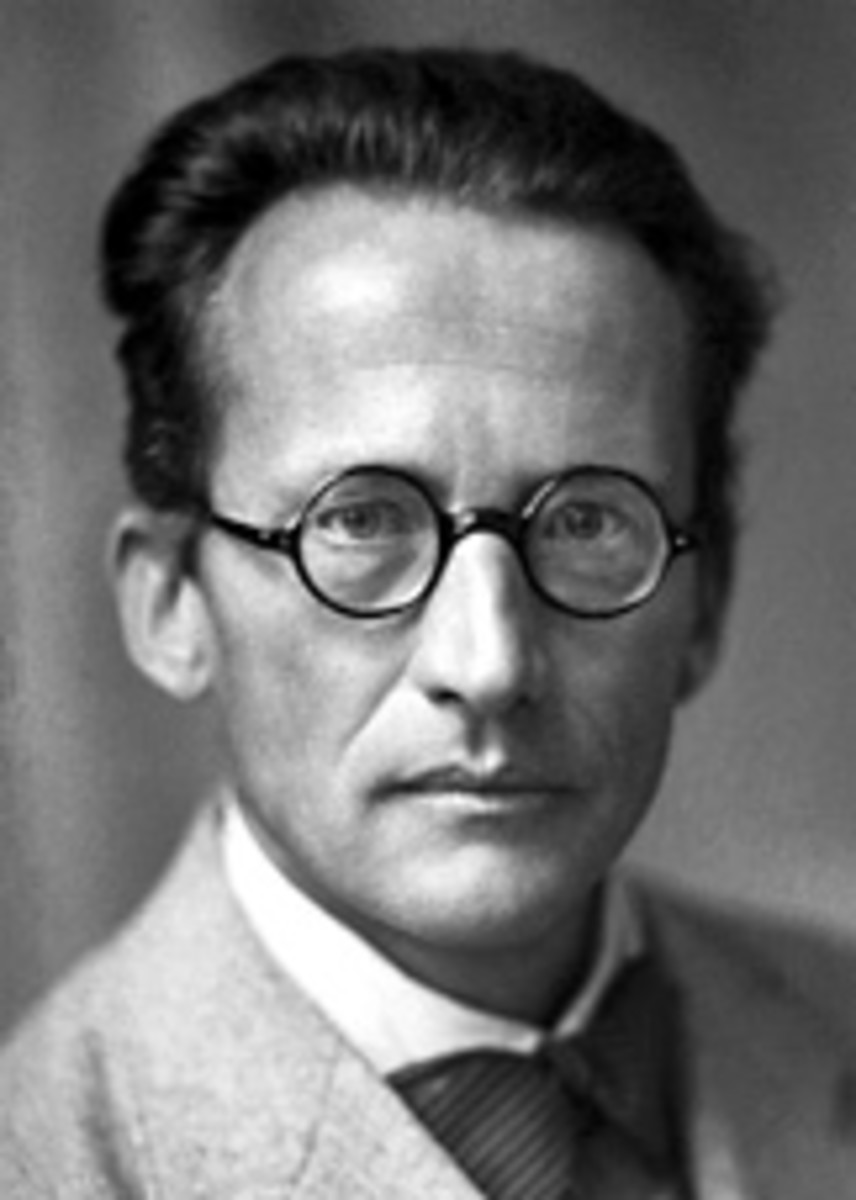 A great theoretical Physcisist, creator of Schrodinger Equation and a strange thought experiment involving a half dead and half alive cat.