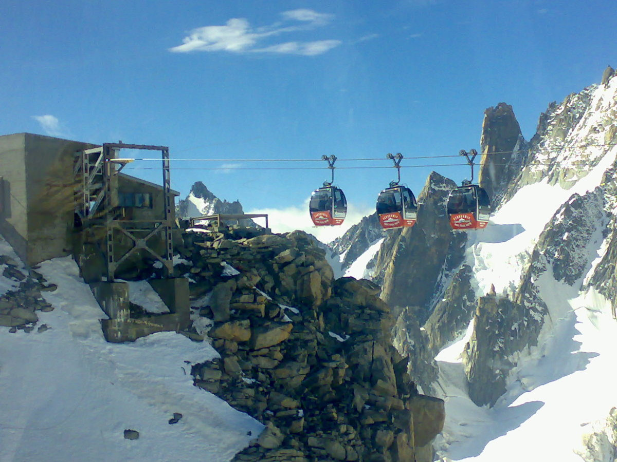 Cable Cars To Italian Border