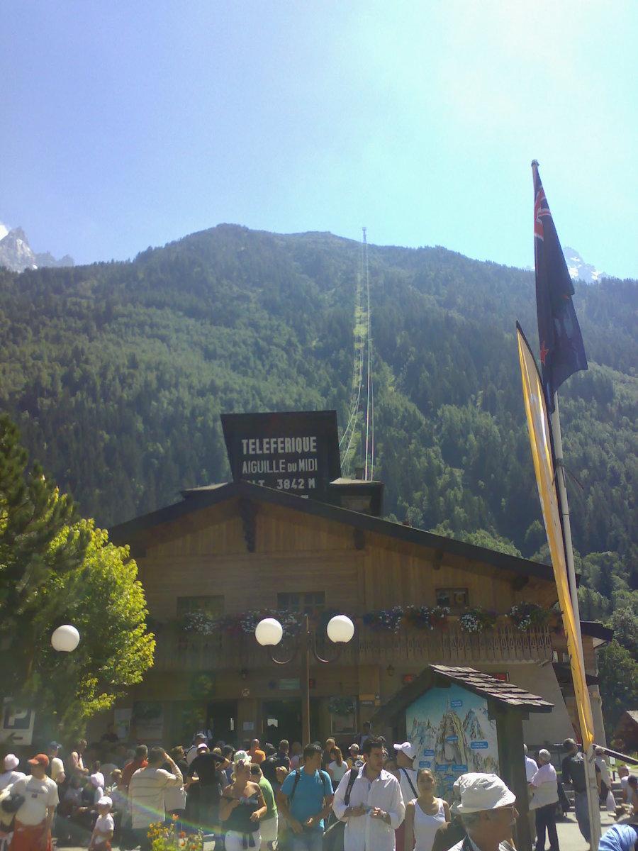 Back In Chamonix