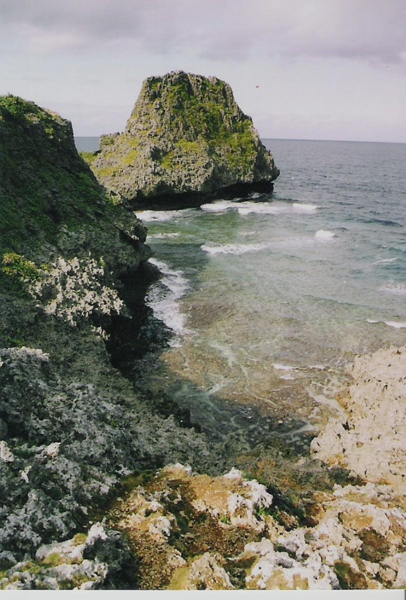 Cape Maeda, Okinawa.