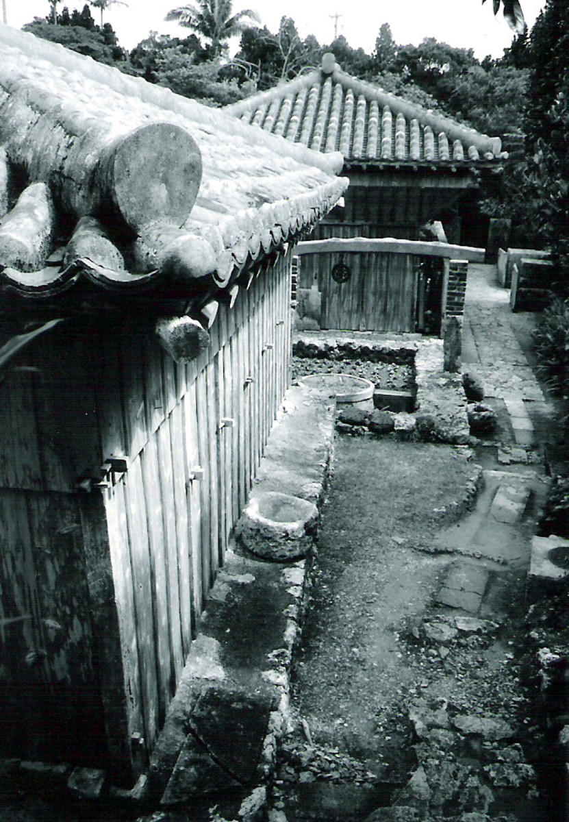 The Nakamura house. A well-preserved reminder of Okinawa's farming culture.